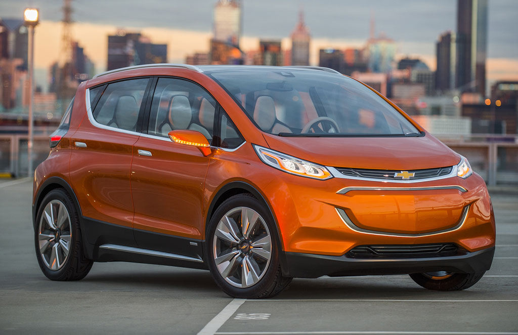 Chevrolet Bolt EV electric car concept