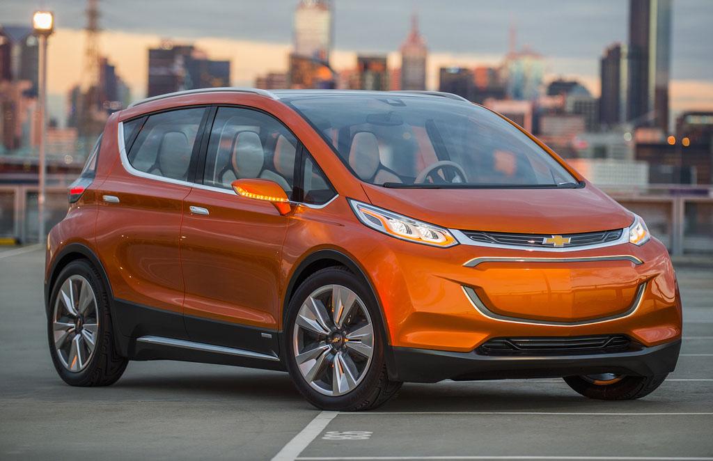 Chevrolet Bolt EV electric car concept