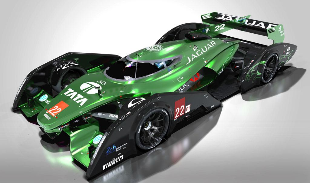 Jaguar XJR-19 Le Mans race car