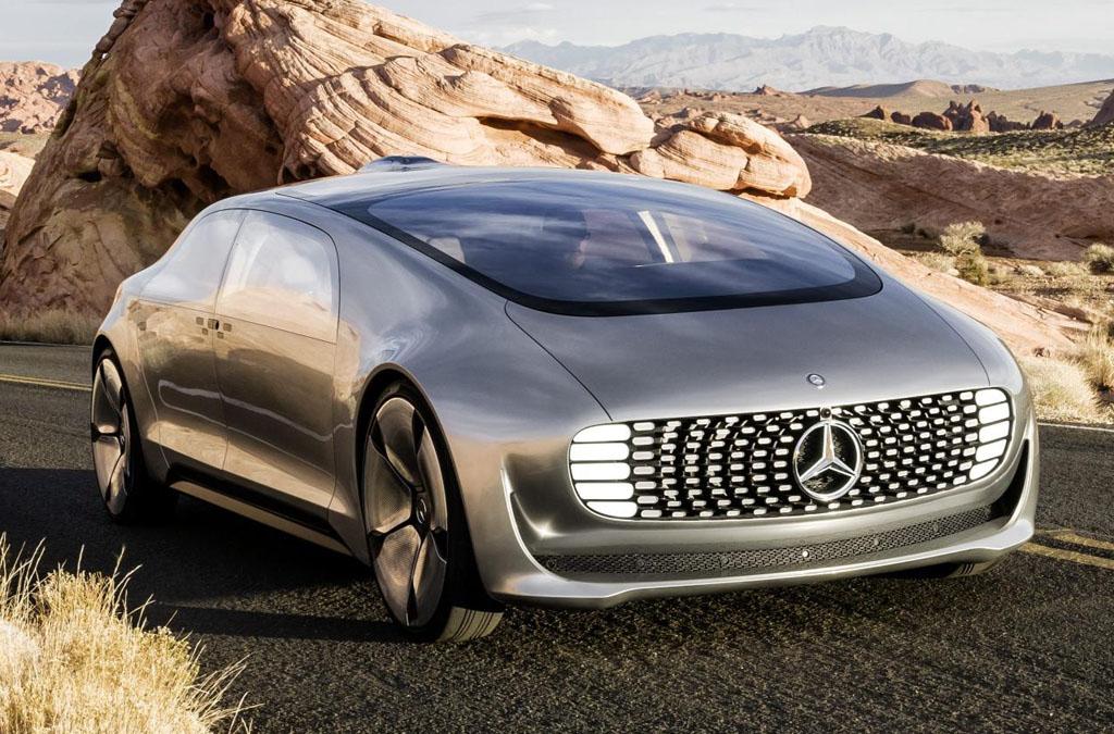 Mercedes-Benz F 015 Luxury in Motion autonomous driving concept car