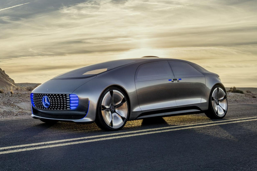 autonomous driving mercedes benz f 015 luxury in motion