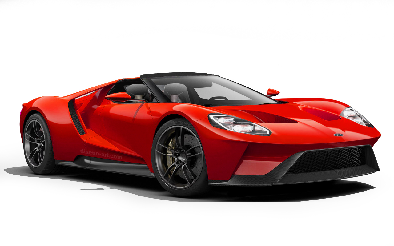 new Ford GT spider targa