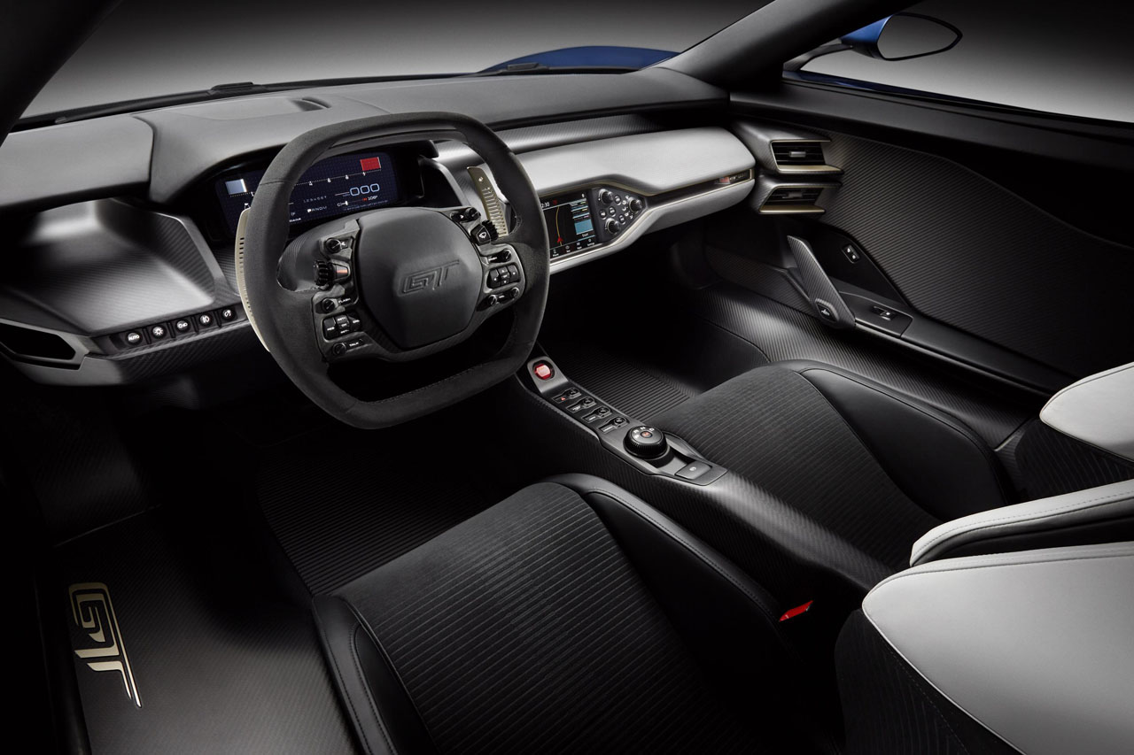 Ford Interior Things To Know About The Ford Gt