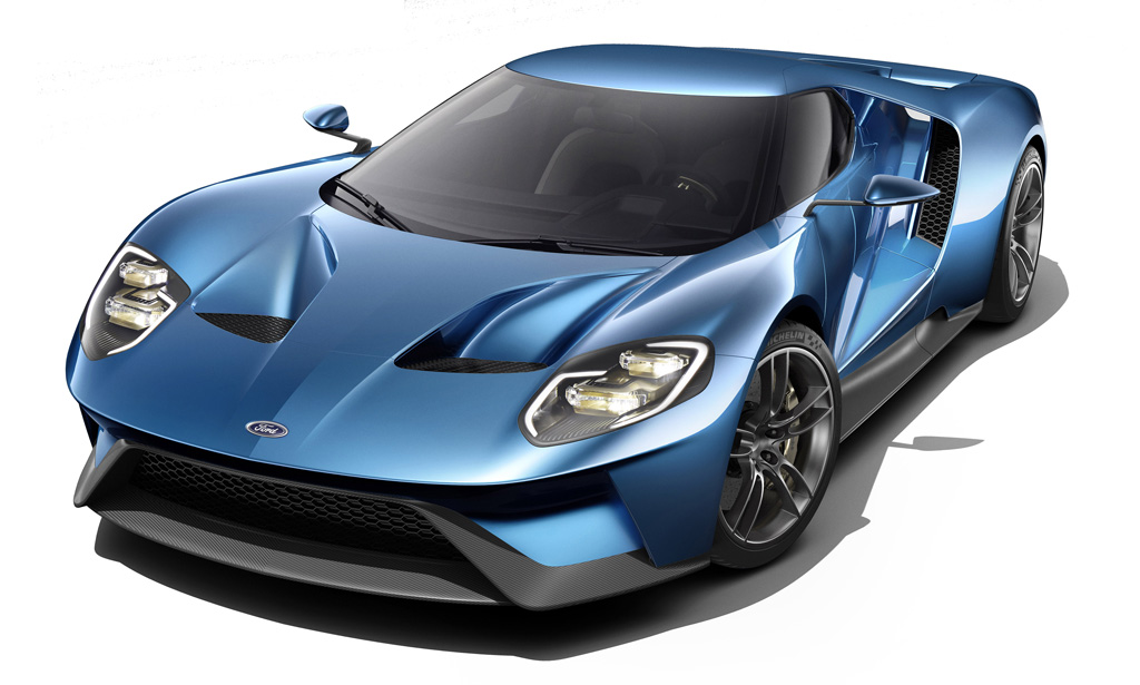 All-New 2016 Ford GT supercar
